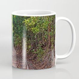 The curve in the rail Coffee Mug