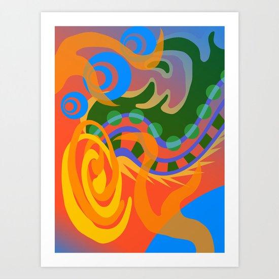 Untitled Absract Art Print