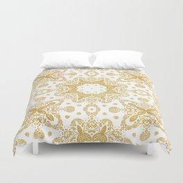 Golden pattern Duvet Cover