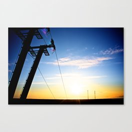 ANGLE OF DEPTH Canvas Print