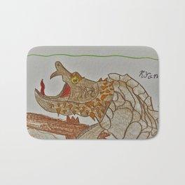 Alligator Snapping Turtle Bath Mat