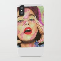 neon iPhone & iPod Cases featuring Neon  by Kate Allison
