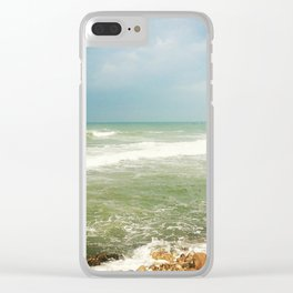 Tel Aviv II Clear iPhone Case