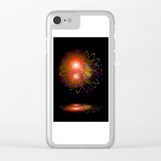 Magical Light and Energy 3 Clear iPhone Case