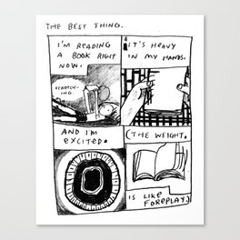 The Best Thing Canvas Print