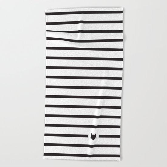 Classic Stripes Beach Towel