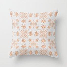 Wild Vintage Strawflowers Throw Pillow