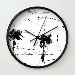 ABSTRACT VIEW NO. 18 Wall Clock