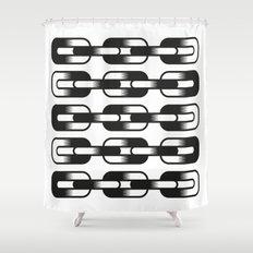 Un-Chain Shower Curtain