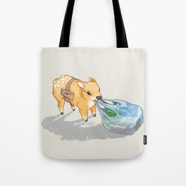 small independent deer — no text Tote Bag