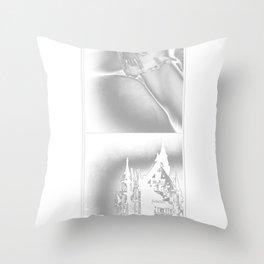 sore Throw Pillow