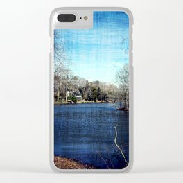 Lakeside Attraction Clear iPhone Case
