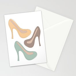 Hey, Cute Shoes! Stationery Cards