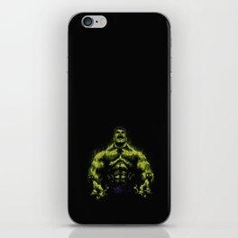 Green power iPhone Skin