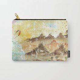Landscape Nature Watercolor Art Carry-All Pouch