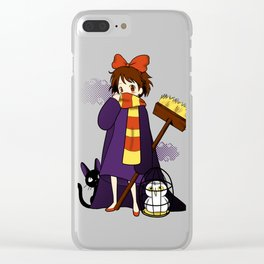 Road to Hogwarts Clear iPhone Case