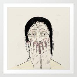 Overjoyed Art Print