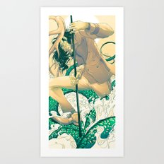 Herne the Hunter Art Print