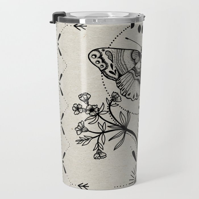 Magical Moth Travel Mug