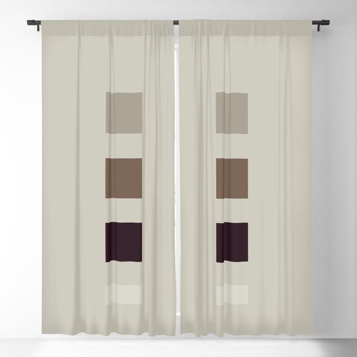 four elements || nougat Blackout Curtain