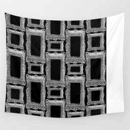 Antique Frame black and white #2 Wall Tapestry
