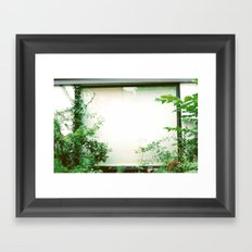picture window Framed Art Print