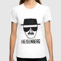 breaking T-shirts featuring Heisenberg - Breaking Bad Sketch by Bright Enough💡