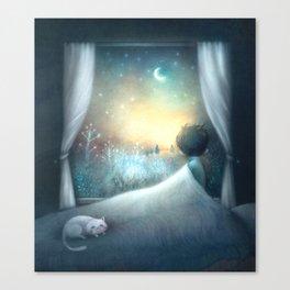 Not Sleepy Canvas Print