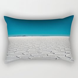 Salt Flats of Salar de Uyuni, Bolivia #2 Rectangular Pillow