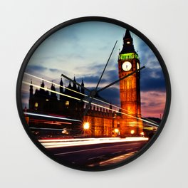 Big Ben in the speed of light Wall Clock