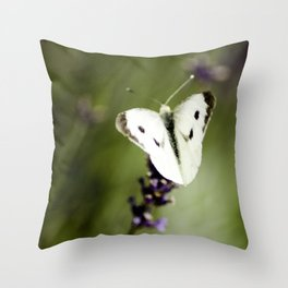 Butterfly Dream 2 (Square) Throw Pillow