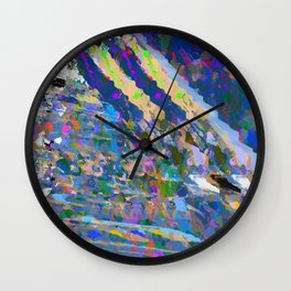 landscape collage #19 Wall Clock