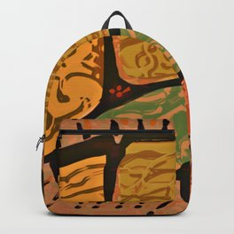 Terracotta HappyMess #society6 #buyart Backpack
