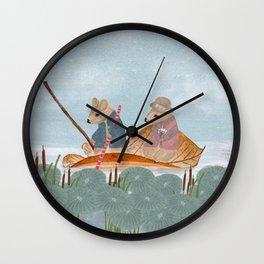 mississippi mice Wall Clock