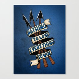 Nothing To Lose Canvas Print