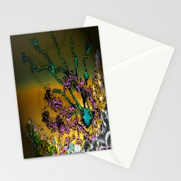 Deep Sea Coral Stationery Cards