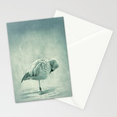 Flamingo Blues Stationery Cards
