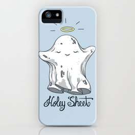Holey Sheet iPhone Case