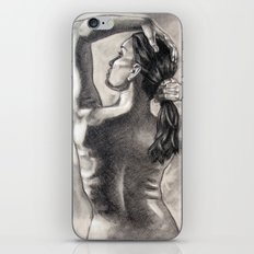 Behind Your Beauty iPhone & iPod Skin