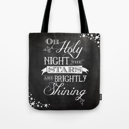 Oh Holy Night Tote Bag