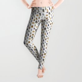 Science cats. History of great discoveries. Schrödinger cat, Tesla, Einstein. Physics, chemistry etc Leggings