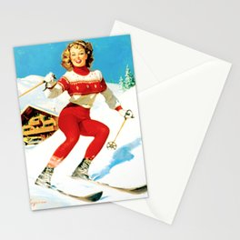 PIN UP GIRL by Gil Elvgren Stationery Cards