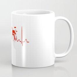 DRUMS HEARTBEAT Coffee Mug