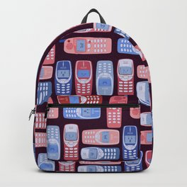 Vintage Cellphone Reactions Backpack