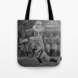 Zeke Elliott Jump #3 Tote Bag