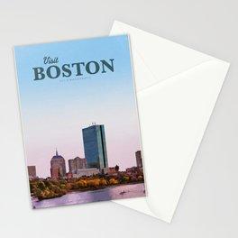 Visit Boston Stationery Cards