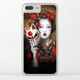 Kitsune Clear iPhone Case