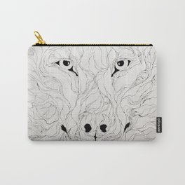 Wolfs wood Carry-All Pouch