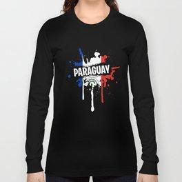 Nice Paraguay Shirt Men Long Sleeve T-shirt