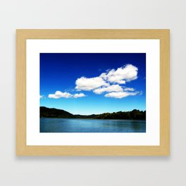 Kentucky and Ohio sky Framed Art Print
